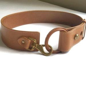 WCM Vintage Brown Italian Leather Belt